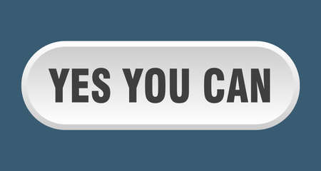 yes you can button. yes you can rounded white sign. yes you can