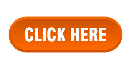 click here button. click here rounded orange sign. click here  イラスト・ベクター素材