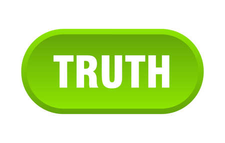 truth button. truth rounded green sign. truth  イラスト・ベクター素材
