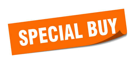 special buy sticker. special buy square sign. special buy. peeler Çizim