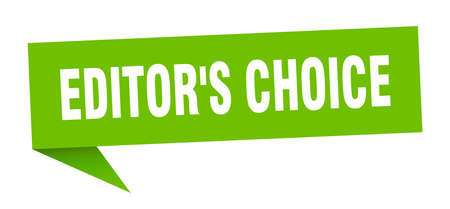 editor's choice speech bubble. editor's choice ribbon sign. editor's choice banner Stock Illustratie