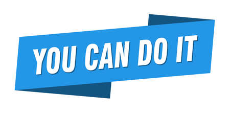 you can do it banner template. you can do it ribbon label sign