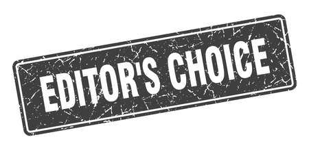 editor's choice stamp. editor's choice vintage black label. Sign