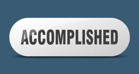 accomplished button. accomplished sign. key. push button.