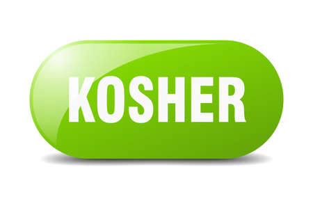 kosher button. kosher sign. key. push button.