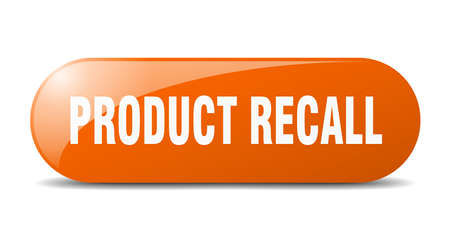 product recall button. product recall sign. key. push button.