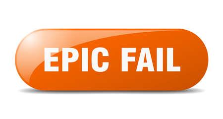 epic fail button. epic fail sign. key. push button.