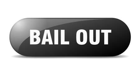 bail out button. bail out sign. key. push button.