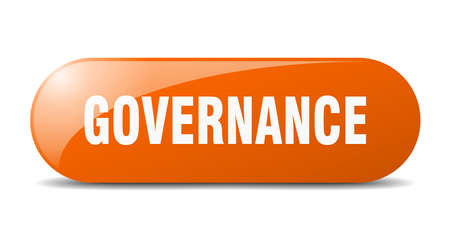 governance button. governance sign. key. push button. Çizim