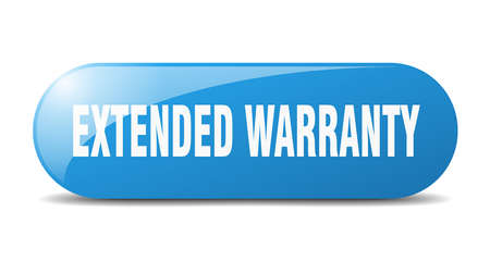 extended warranty button. extended warranty sign. key. push button.