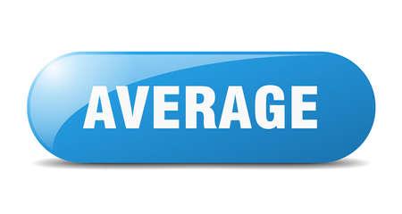 average button. average sign. key. push button.