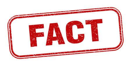 fact stamp. fact square grunge sign. label