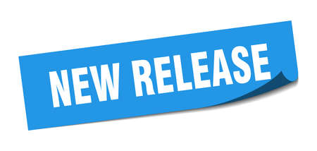 new release sticker. new release square isolated sign. new release label 向量圖像