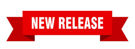 new release ribbon. new release isolated band sign. new release banner
