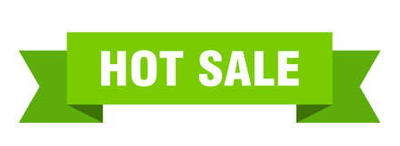 hot sale ribbon. hot sale isolated band sign. hot sale banner 版權商用圖片