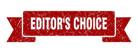 editor's choice ribbon. editor's choice grunge band sign. editor's choice banner Stock Illustratie