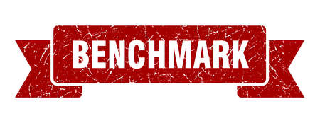 benchmark ribbon. benchmark grunge band sign. benchmark banner