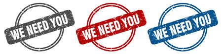 we need you stamp. we need you sign. we need you label set