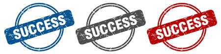 success stamp. success sign. success label set