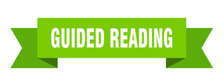 guided reading ribbon. guided reading paper band banner sign