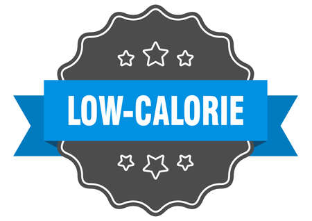 low-calorie label. low-calorie isolated seal. Retro sticker sign