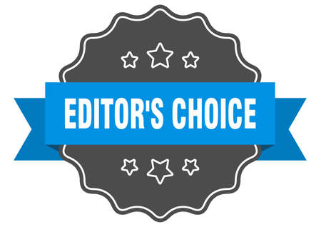 editor's choice label. editor's choice isolated seal. Retro sticker sign