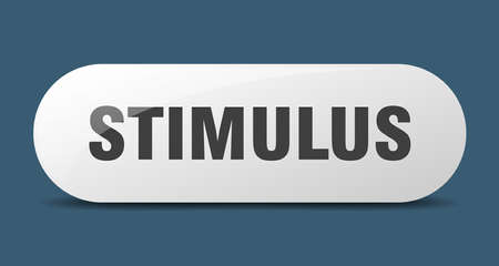 stimulus button. rounded glass sign. sticker. banner  イラスト・ベクター素材