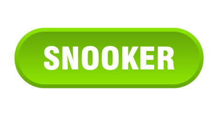 snooker button. rounded sign isolated on white background 向量圖像