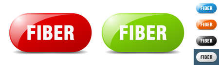 fiber button. sign. key. push button set