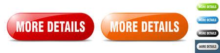 more details button. sign. key. push button set