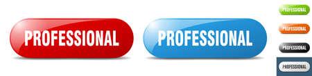 professional button. sign. key. push button set