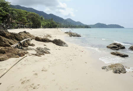 chang: Koh Chang, Lonely Beach Stock Photo