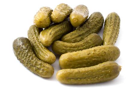 Pickles verzeichnete einen Hügel auf einem weißen Hintergrund Lizenzfreie Bilder