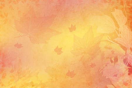 Abstrakter Hintergrund mit den gefallenen Blätter im Herbst Lizenzfreie Bilder
