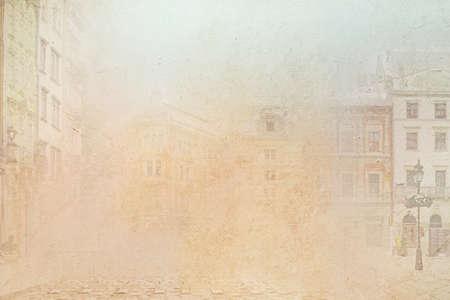 Zusammenfassung Hintergrund der Altstadt Lizenzfreie Bilder