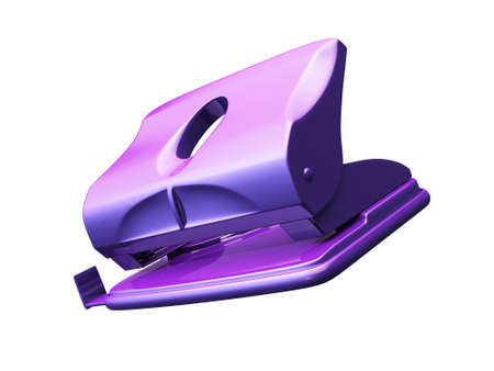puncher: Hole puncher isolated 3d model