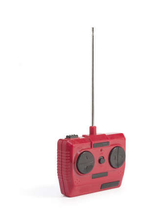 dusty radio remote control isolated Stock Photo - 14131041