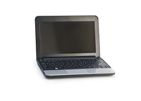 Netbook isolated on the white background Stock Photo - 18253412
