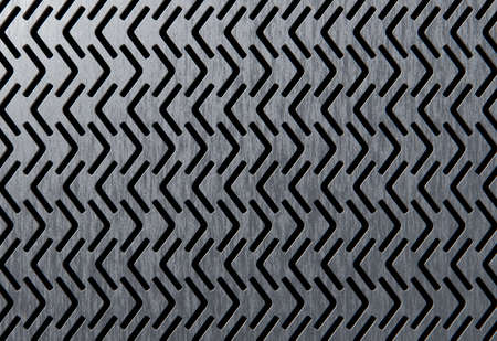 perforated: Perforated metalic panel 3d model