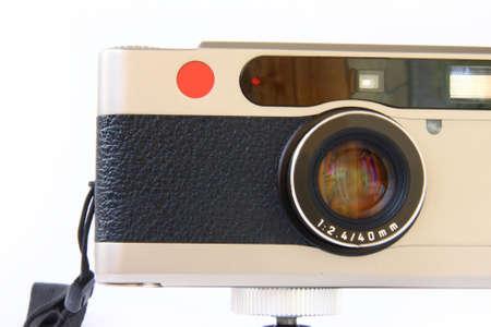 analogue: photo camera Stock Photo