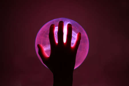 plasma ball  Stock Photo - 3586571