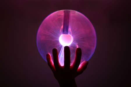 plasma ball Stock Photo - 3586579