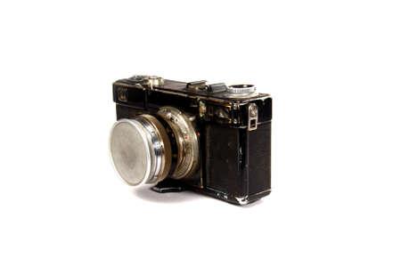 Retro SLR photo camera photo