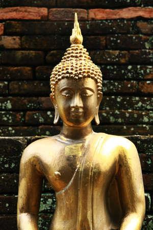 Thai Buddha, the art of asia Stock Photo