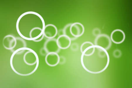 the circle on the green background, abstract background photo