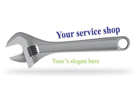 auto service: Logo design  for auto service shop Illustration