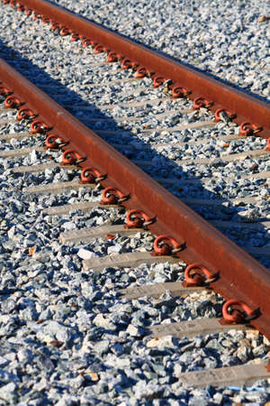 grit: Train tracks with grit