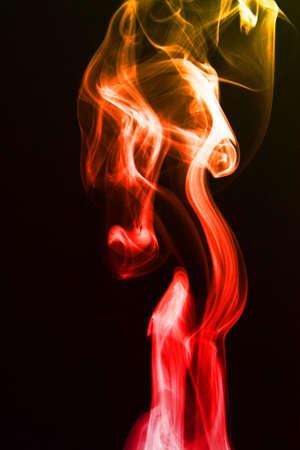 The abstract smoke