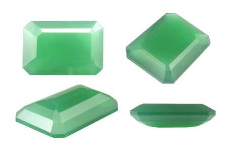 chalcedony: Verde Calcedonio Naturale, Octagon