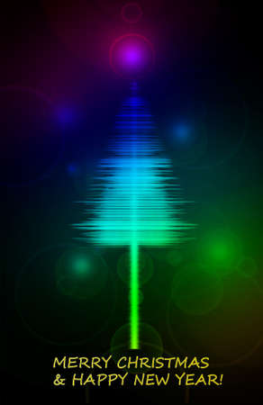 Christmas tree in the Sound waveform.